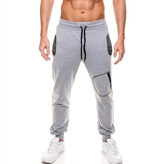 Men Casual Sweatpants Jogger Sports Trousers Drawstring  Long Pants