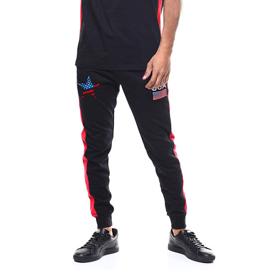 Men Fashion Jogging Pant Sports Hip Hop Track Trousers Long Slacks Slim Fit