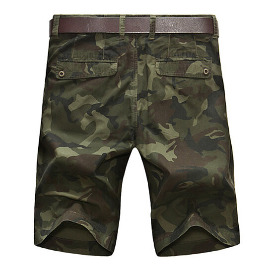 Mens Cargo Shorts with Pocket Cotton Relaxed Fit Casual  Outdoor Wear