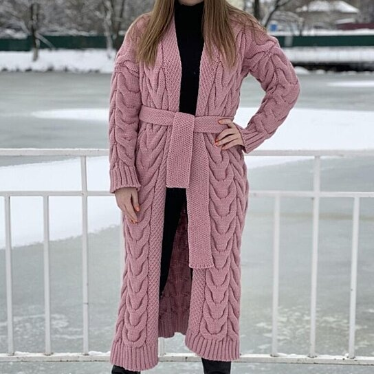 Men's Sweater Fashion Slim Fit Pullover Casual Warm Knitted Sweater