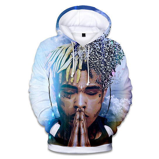 fcc9afeb5 Trending product! This item has been added to cart 40 times in the last 24  hours. XXXTentacion Fashion Hoodies Men Hip Hop Sweatshirts ...