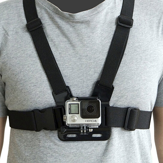 Buy Chest Body Strap For The Gopro 2 3 3 4 By Icover Com