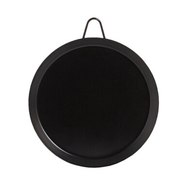 11 Inch High Quality Griddle Pan Round Stovetop Carbon Steel Tortilla Comal