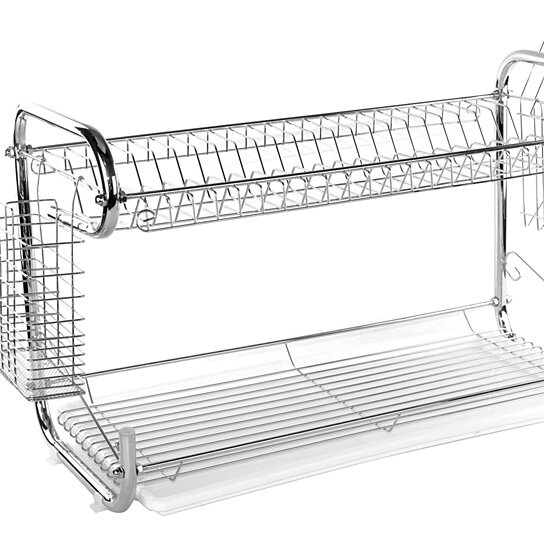 Buy 2 Tier Stainless Steel Quot C Quot Shaped Dish Rack Or Dish