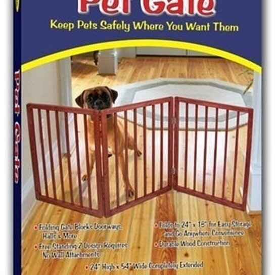 Buy Extra Wide Pet Gate - Freestanding Dog Gate - Indoor Pet Fence ...