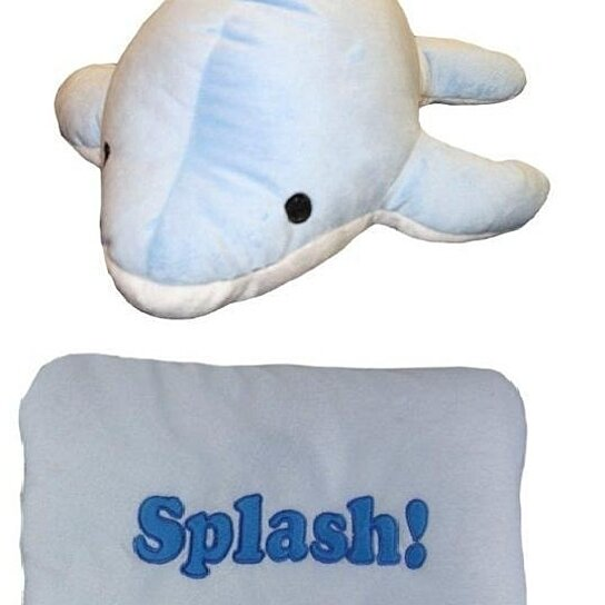 Reversible Animal Pillow : Buy Get Me Out Decorative Pillows Reversible Soft Plush Pillow Pet Dolphin by IcyDeals on OpenSky