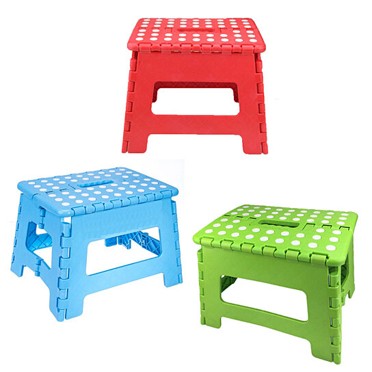 Tremendous Heavy Duty Folding Step Stool Small Foldable Step Stool W Gripping Surface Portable Kitchen Step Stool Cjindustries Chair Design For Home Cjindustriesco