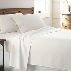 Bamboo Softness  4 Piece  Premium Bed Sheet Set - 13 Colors
