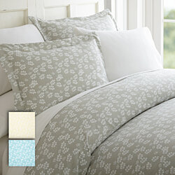 Soft Essentials 3 Piece  Duvet Cover - Wheatfield Print Set