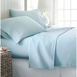 Home Collection 4 Piece Sheet Set Wrinkle Free in 13 Colors