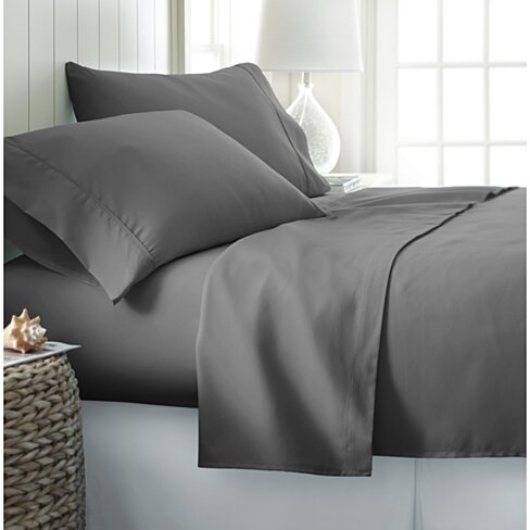Ultra Soft 1800 Series Wrinkle Free 4 Piece Sheet Set in 14 Colors