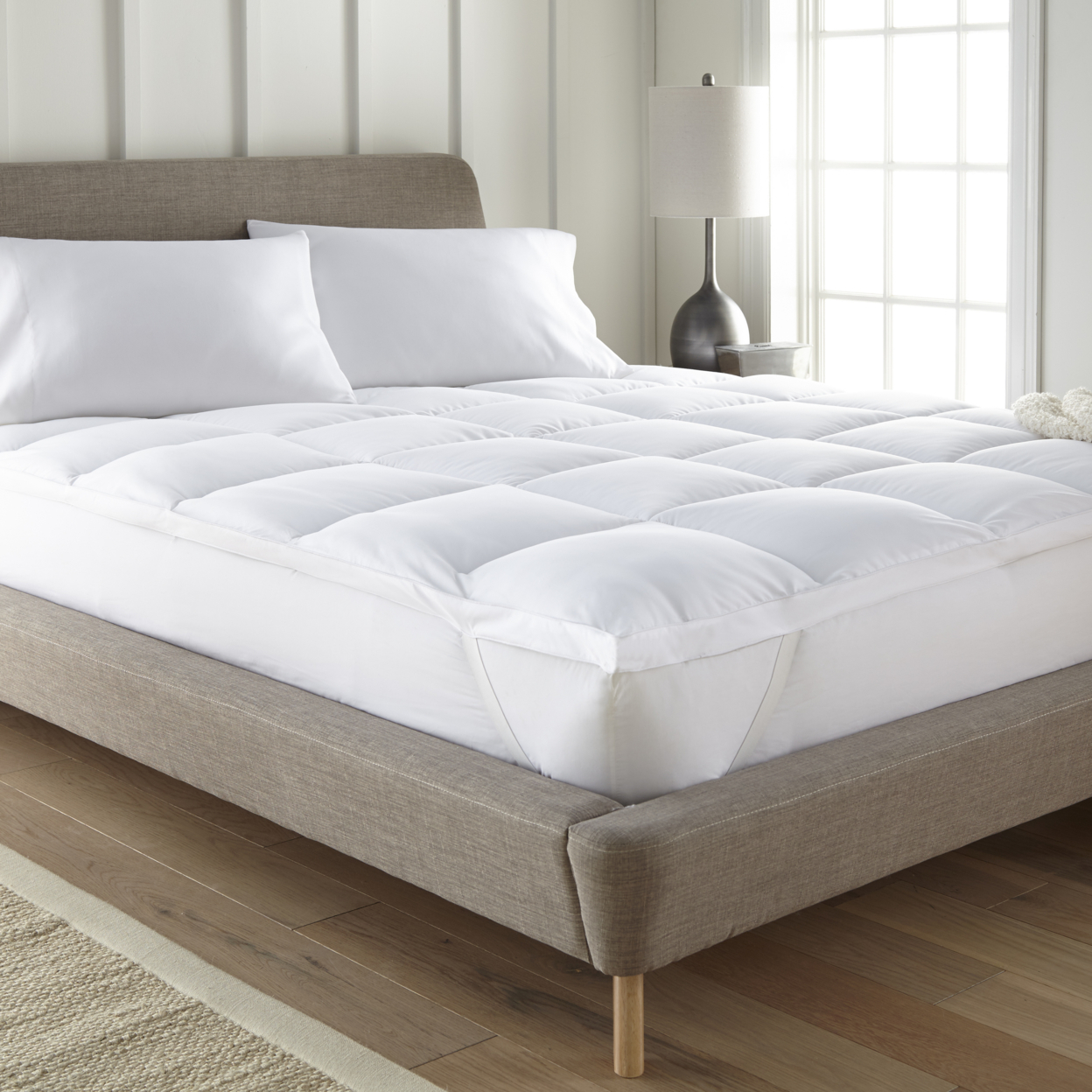 Egyptian Comfort 1800 Series Mattress Pad California King
