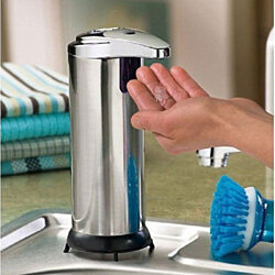 Stainless Steel Hands Free Liquid Soap Dispenser