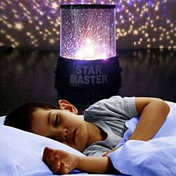THE FANTASIC STAR MASTER NIGHT LIGHT SKY LED PROJECTOR MOOD LAMP KIDS BEDROOM FOR CHILDREN
