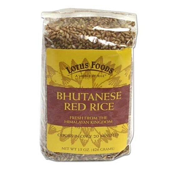 how to cook bhutanese red rice