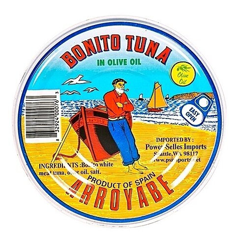 Bonito del Norte Tuna in Tin by Arroyabe
