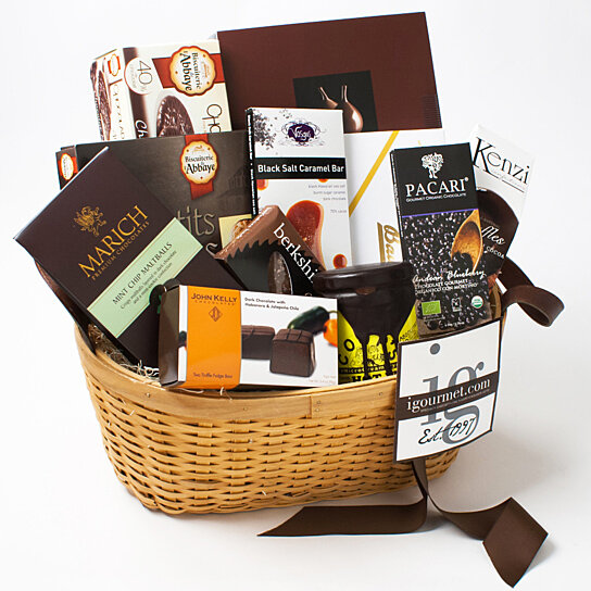 Buy chocolate lover 39 s premier gift basket by Gifts for kitchen lovers