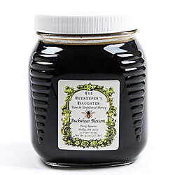 Raw Buckwheat Honey by the Beekeeper's Daughter - 2.5 lb Jar