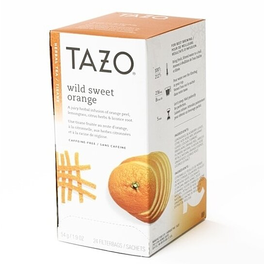 Wild Sweet Orange Herbal Tea | TAZO® Tea