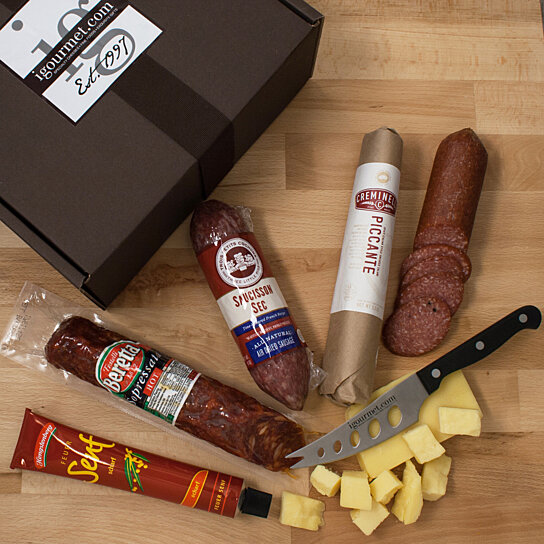 Weight Lifting Equipment In Honolulu: Buy Ultimate Salami Collection In Gift Box By Igourmet.com