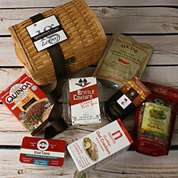 Vegan Delights Gift Basket