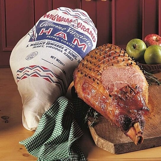 Buy Virginia Wigwam Ham Whole Bone In Hickory Smoked Leg