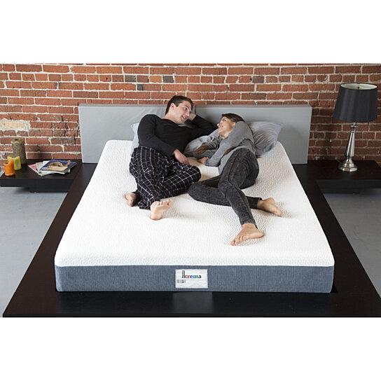 Buy Ikrema 10 Superior Memory Foam Mattress Bed In A Box