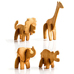 SAFARI Animal-Shaped Cookie Cutters