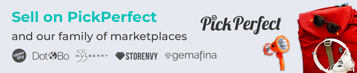 Sell on PickPerfect and our family of marketplaces!