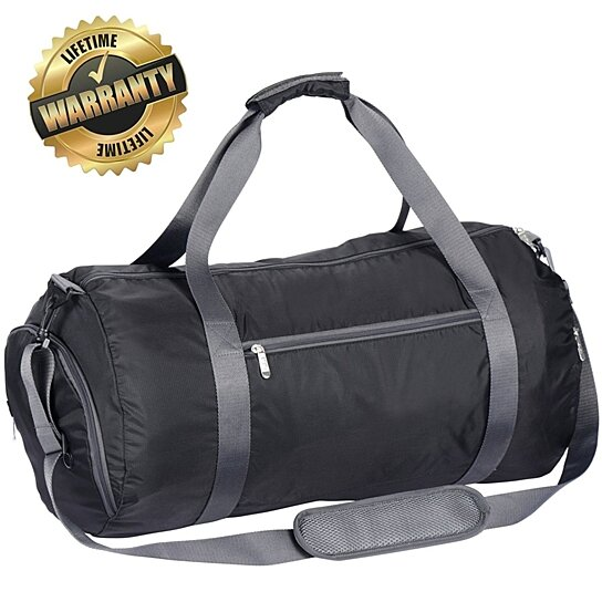 9686ac1902 ... buy popular 7b2f1 e2702 Caris Gym Bag With Shoe Partment Best S In   timeless design fbdd0 9cd3d Womens Nylon Travel Duffle Bag Gym ...