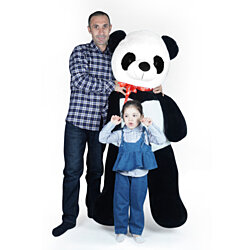"Super Soft Giant Stuffed Animal Panda Bear Plush Toy Gifts Kids, 5.2ft(62"")"