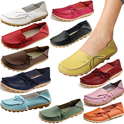 Women Driving Loafers Boat Shoes