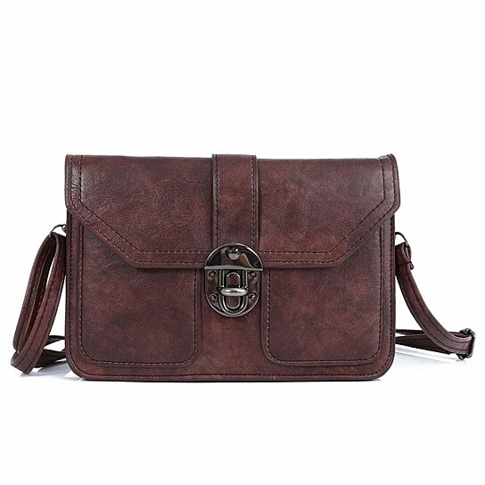 b53d81fb5f52 Buy Womens Leather Small Crossbody Bags Cell Phone Wallet Purse Bag for  Women by imomoi on OpenSky