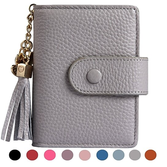 Buy Women s Mini Credit Card Case Wallet with ID Window and Card Holder  purse 9 Colors by imomoi on OpenSky 242b809f3b