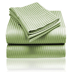 1800 Series Embossed Stripe Sheet Set
