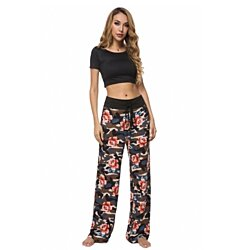 Lilly Posh Camouflage Print Lounge Pants, Mult. Colors, S-3X
