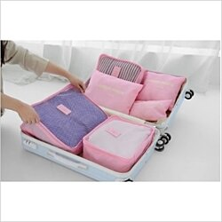 Travel Organizer Set (6 pieces) - 3 Colors