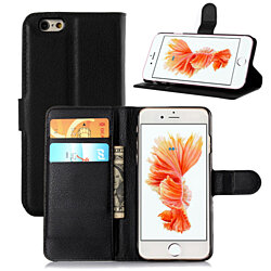 Compatible for iPhone  6/6 Plus & 7/7Plus & 8/8 Plus Wallet Case With Flip Stand