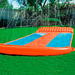 Water Slide for Backyard Activities or Summertime Parties