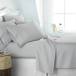 Home Collection 6 Piece Premium Ultra Soft Bed Sheet Set - 13 Colors