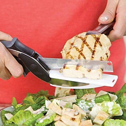 As Seen On Tv Clever Cutter 2-in-1 Food Chopper