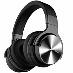 COWIN E7 Pro Active Noise Cancelling Headphone Bluetooth Headphones Microphone Hi-Fi Deep Bass Wireless Headphones Over Ear 30H Playtime Tra