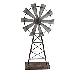 Large Windmill Table Sculpture