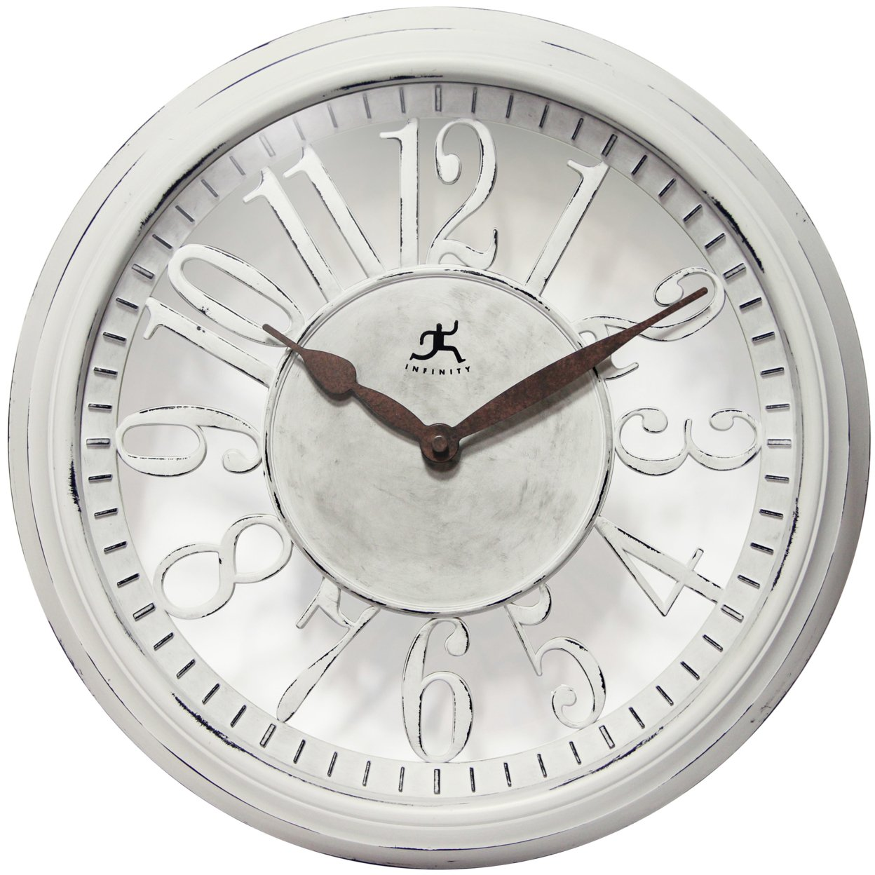 Infinity Instruments Chalet; A 15 Inch Romantic Country Wall Clock