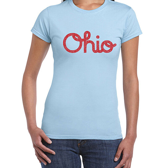 Buy Ohio Script Funny Buckeye Spirit Pride Retro Cool