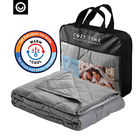 Adana 2 in 1 Warm & Cool Weighted Blanket - Calm Sleeping