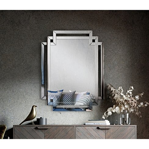 Cash Mirror - Accent | Beveled Glass | Wall Mounted