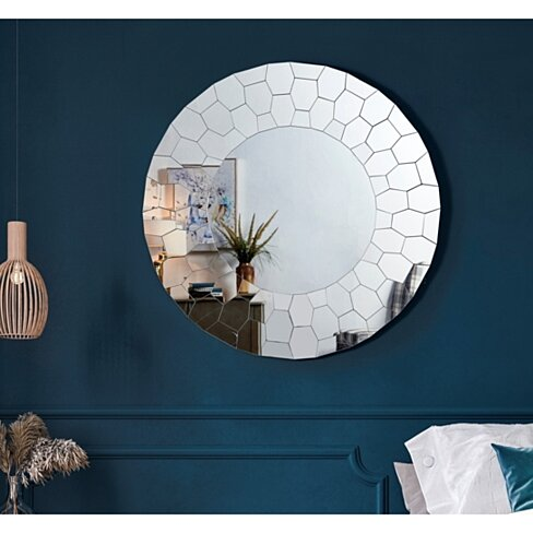 Erick Mirror - Accent | Beveled Glass | Wall Mounted
