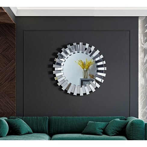 Katelyn Mirror - Sunburst | Beveled Glass | Wall Mounted