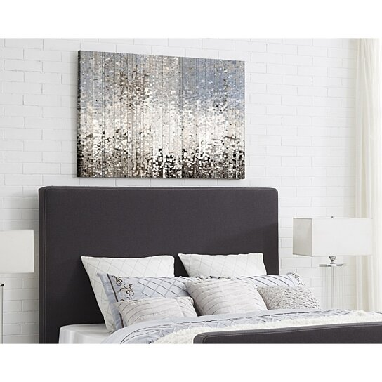 Kynthia Linen Headboard Queen Or King Upholstered Modern And Contemporary Inspired Home